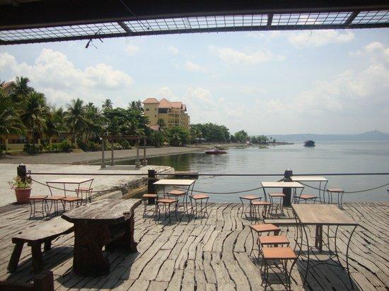 """Club Balai Isabel: """"pantalan"""" (pier)"""