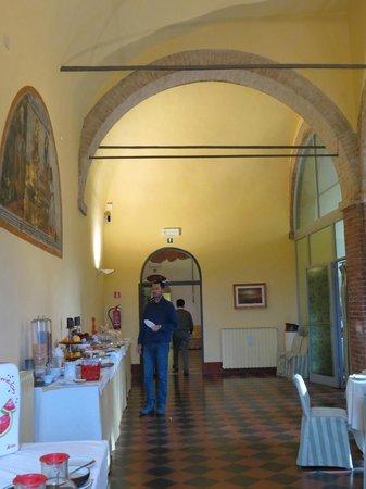 Il Chiostro del Carmine: Sala do café da manhã