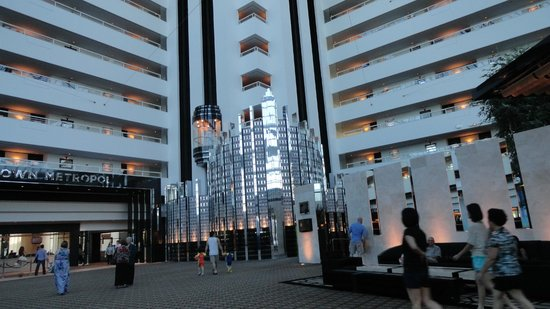 Crown Metropol Perth: hotel and grounds