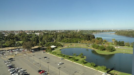 Crown Metropol Perth: view from room