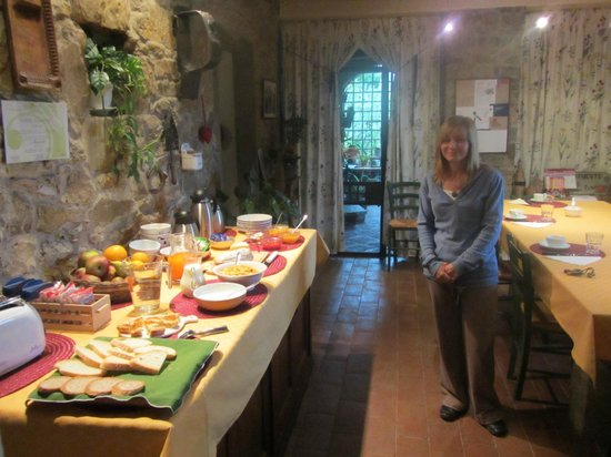 B&B Fagiolari: Breakfast room