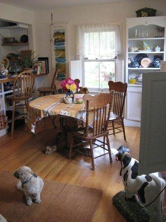 Inky Dinky Oinkink: breakfast room