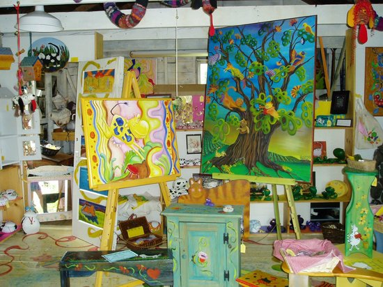 Inky Dinky Oinkink: gallery/gift shop