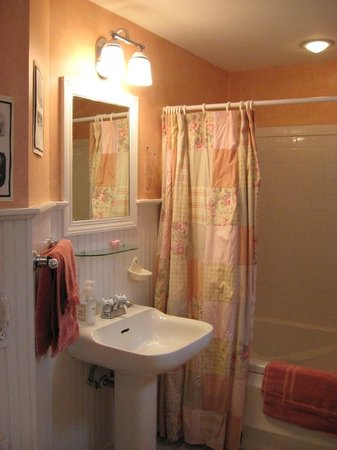 Inky Dinky Oinkink : guest bathroom with jacuzzi tub