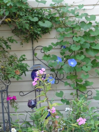 Sleepy Hallowell Bed and Breakfast: Garden Flowers