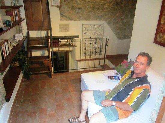 B&B Fagiolari : Small sitting area