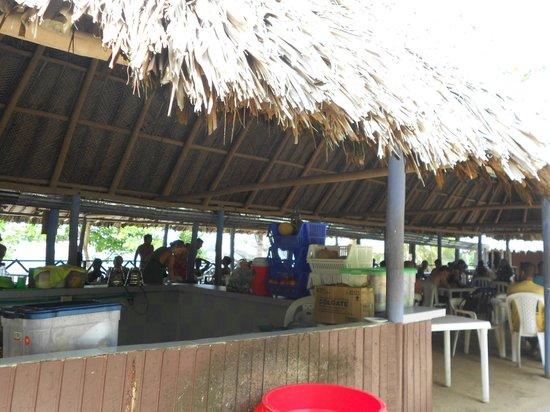 Camping Tayrona: Restaurant