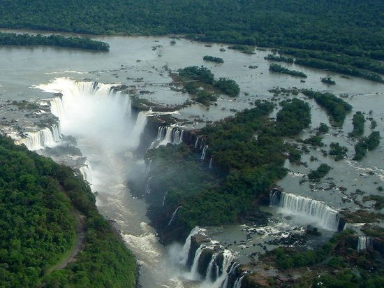 Abseiling in the Iguacu Canyon