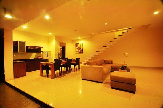 Bali Luxury Villas Seminyak: Living room