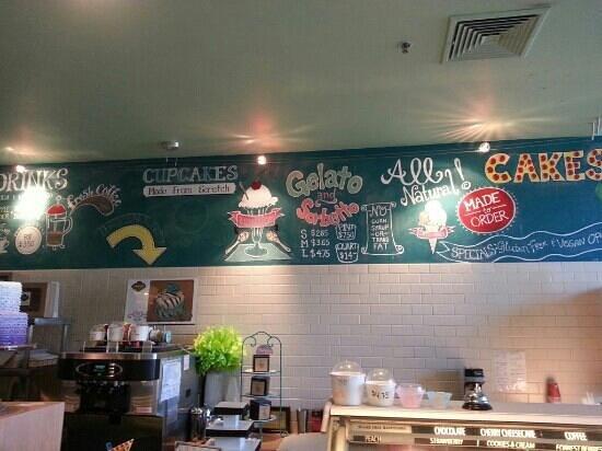 Sweetspot: menu Board