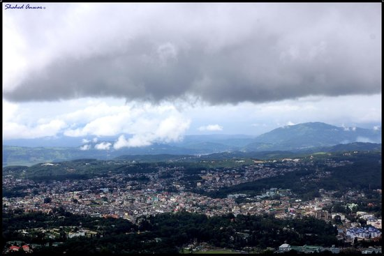 Viewing Shillong from Shillong Peak