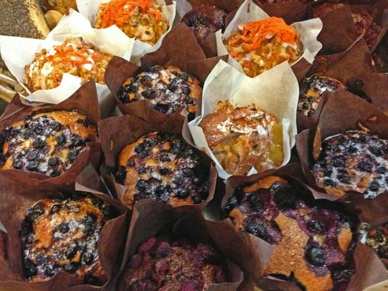 St. Jacobs Farmers Market: German Bakery's Muffins