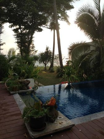 Thai Island Dream Estate: View from pool