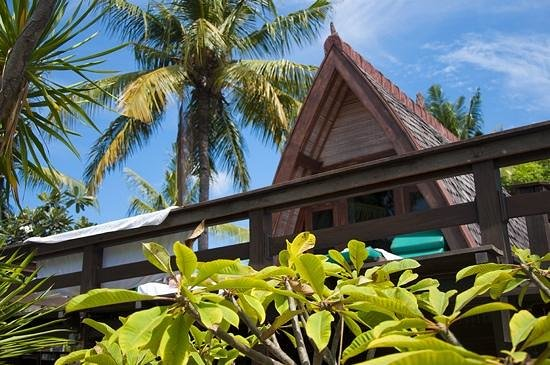 Hotel Vila Ombak : lumbung hut