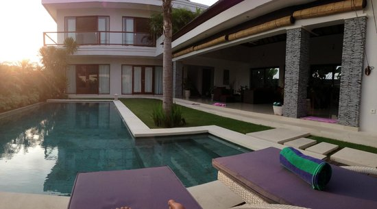 The Oshan Villas Bali: Highly relaxed atmosphere