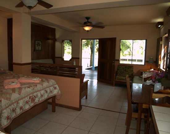 Decked Out House: Ground level studio that may be 5th bedroom or rented separately