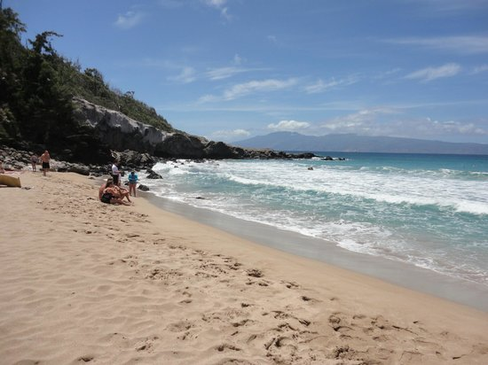Mokuleia Beach Park: Choppy waves, no good for snorkelling, but great for boogie boarding! April 27/11