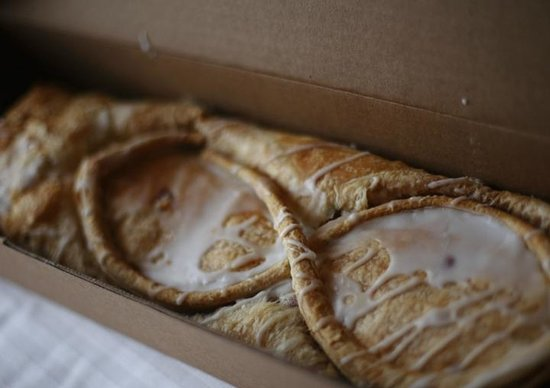 Naegelin's Bakery: Love the strudel.  Flaky & delicious!