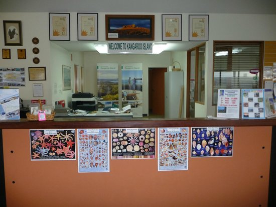 Kangaroo Island Gateway Visitor Information Centre: Information Centre - Penneshaw
