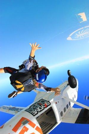 Skydive Dubai: The Jump