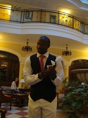 Iberostar Grand Hotel Trinidad : El mago Edgar