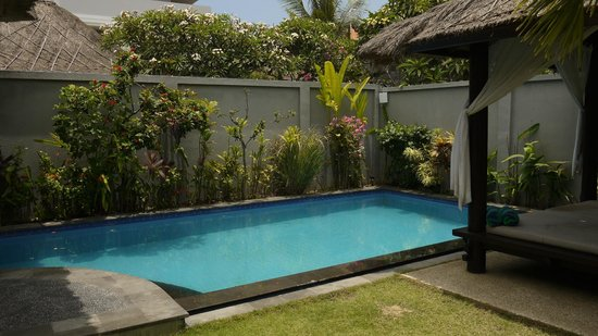 ‪‪The Kuta Playa Hotel and Villas‬: Private pool‬