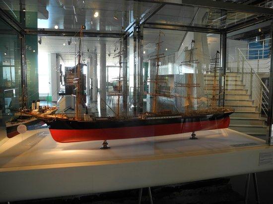 German Maritime Museum: Eins der vielen Schiffe