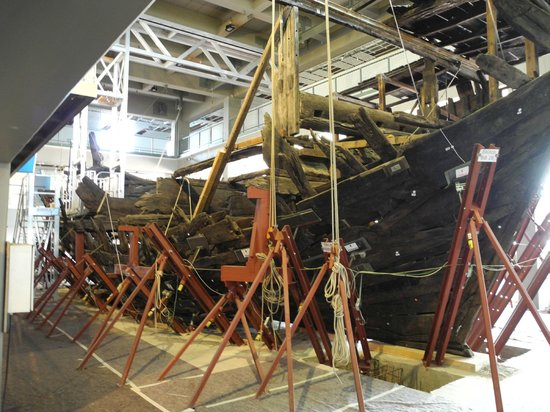 German Maritime Museum: Schiffswrack