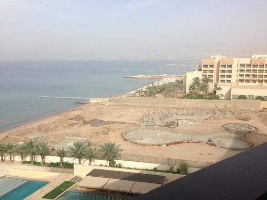 Kempinski Hotel Aqaba Red Sea: View from your balcony