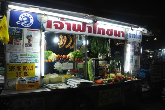 Andaman Legacy Guest House : at the Stall of the Night Market