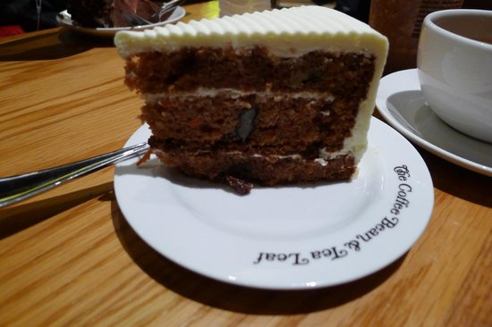 The Coffee Bean Tea Leaf Carrot Cake Picture Of The Coffee Bean Tea Leaf Singapore Tripadvisor