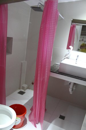 Metro Vigan Regency Hotel: 2nd floor bathroom