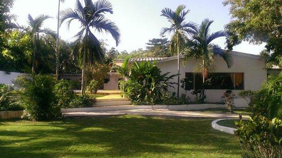 San San Tropez Villa-Hotel: The hotel grounds