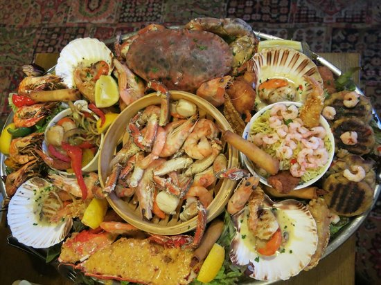 The Anchor Inn: Seafood platter for two