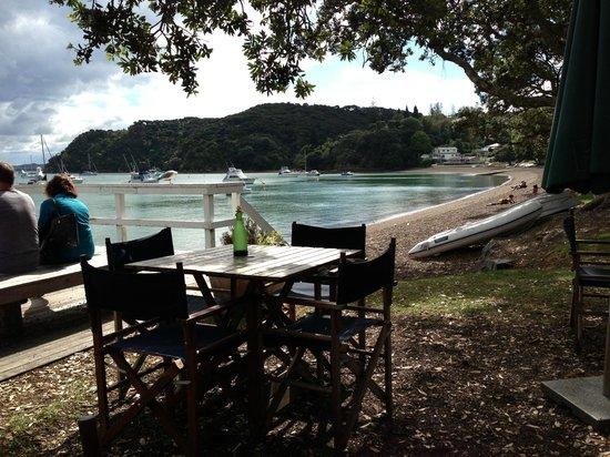 The Wharf - Restaurant & Bar : Our table