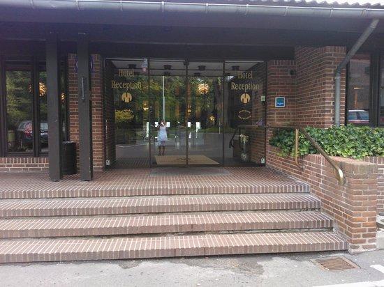 Munkebjerg Hotel: Ingangsparti