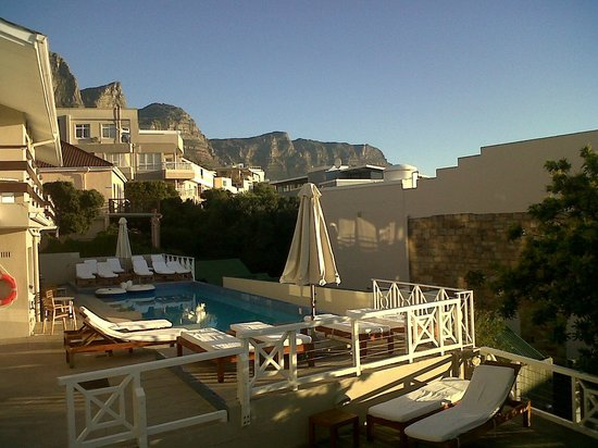 Camps Bay Resort: The View Outside My Room