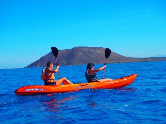 Kayak Fuerteventura: Mejor enfoque imposible