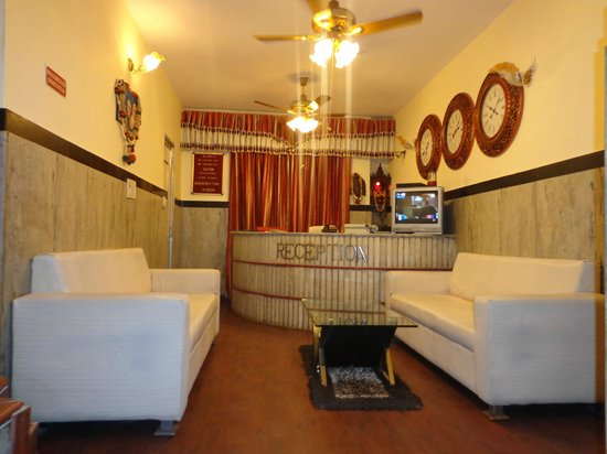 Hotel Lal's Haveli: reception