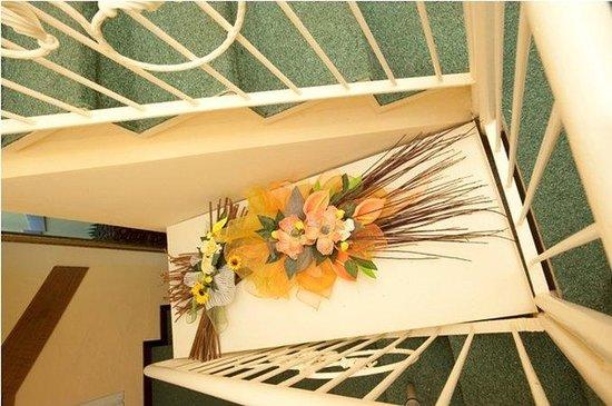 Hotel Boston: Stairs