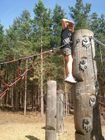 Rendlesham Forest Centre: Fab kids play areas