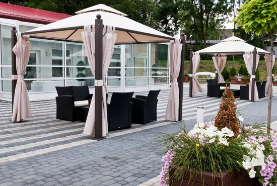 Hotel Sekowski : Patio