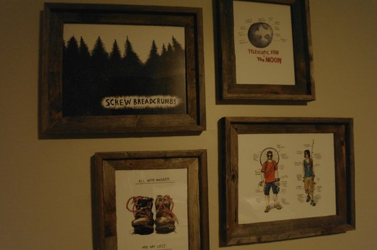 Basecamp South Lake Tahoe: Nice artwork!