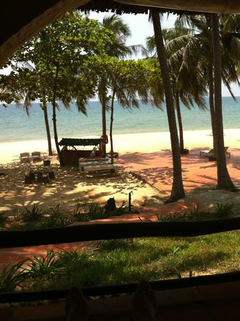 Tropicana Resort Phu Quoc: view from our veranda