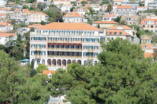 Hilton Imperial Dubrovnik : A photo taken of the Hilton