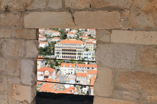 Hilton Imperial Dubrovnik : Photo taken from the Fort across from the Hiton