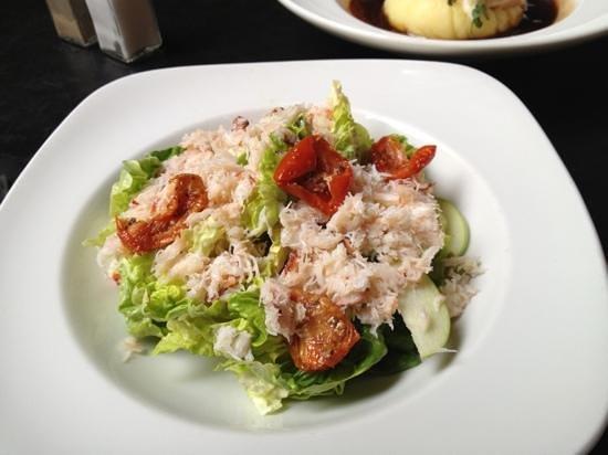 Dakota: crab salad