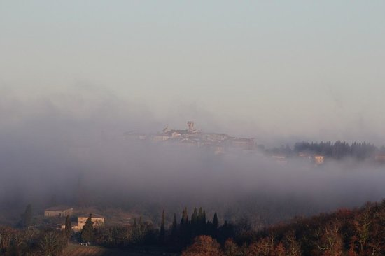 Podere Erbolino di Vertine : beautiful morning