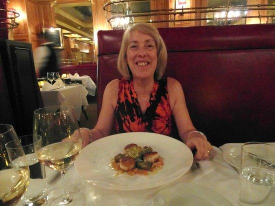 Pinot Brasserie: The Seared Scallops