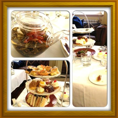 The Angel: Afternoon Tea for 2